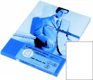 Autocolant transparent mat